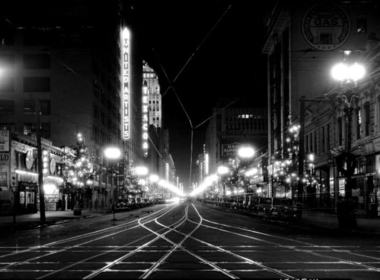 Broadway de noche - reseña El sueño eterno
