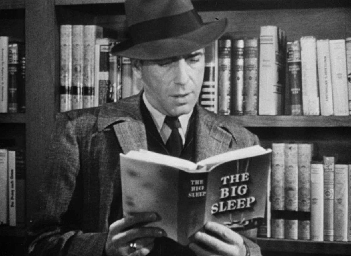 Humphrey Bogart  - reseña El sueño eterno