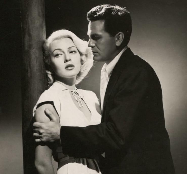 Lana Turner y John Garfield en El cartero siempre llama dos veces