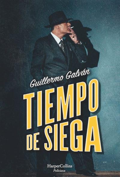 Cubierta novela Tiempo de siega