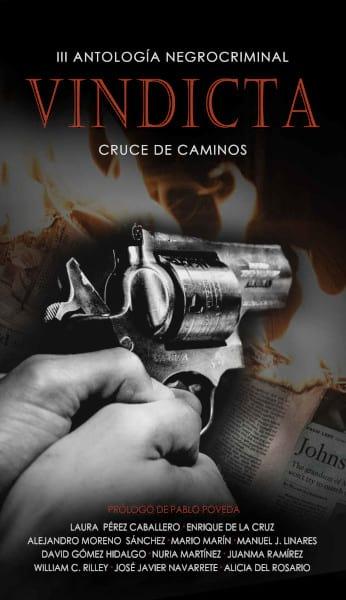 Cubierta Vindicta: III Antología Negrocriminal Cruce de Caminos