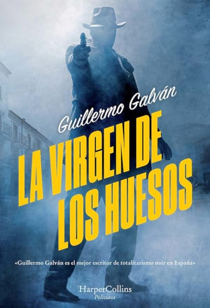 Cubierta novela La virgen de los huesos