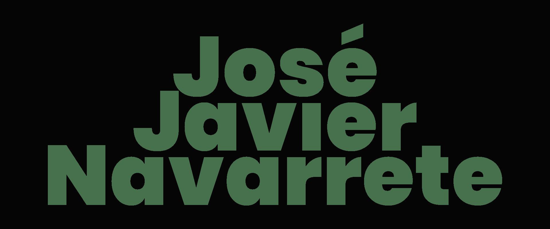 Rótulo de José Javier Navarrete
